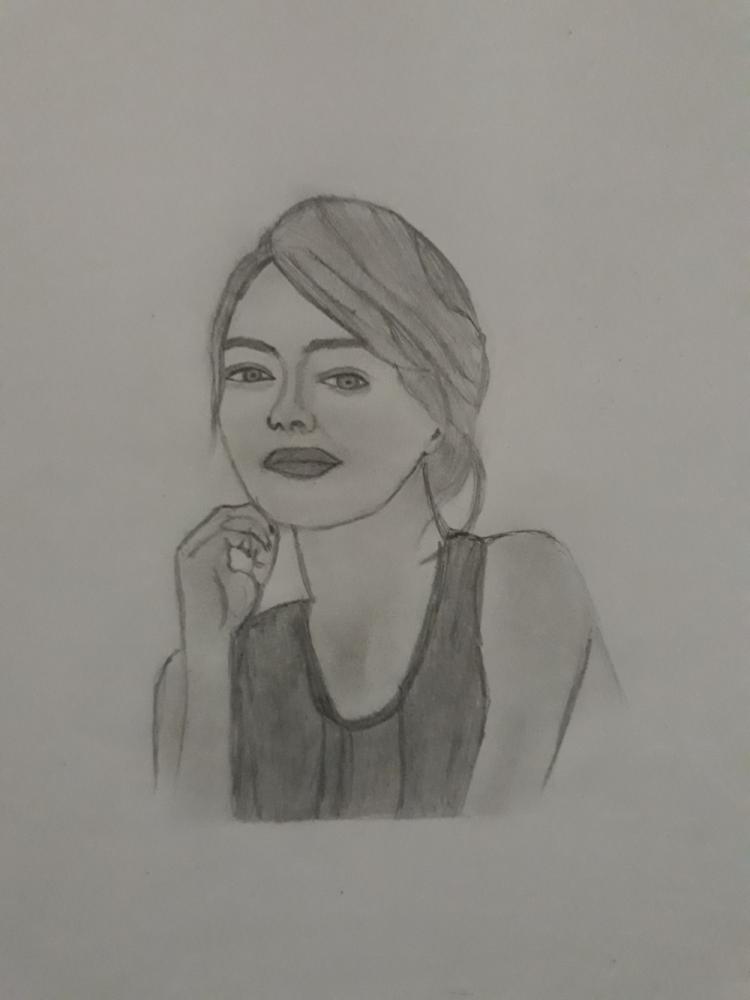 Emma Stone by Thuvaraka